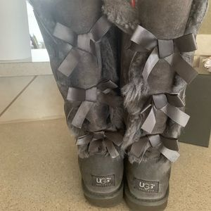 UGG Shoes - Authentic Tall Bailey Uggs Boots. Size 8